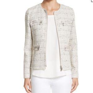 Lafayette 148 New York NWT Emelyn Tweed Jacket 8